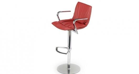 כסא בר אדום