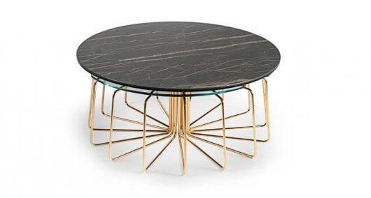 שולחן לסלון עגול איכותי