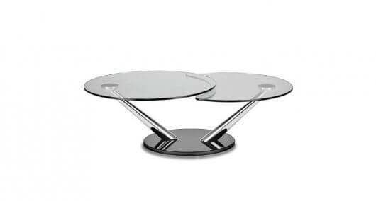 שולחן לסלון עם פלטה כפולה