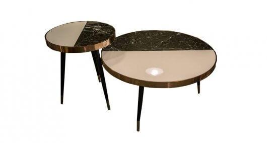 שולחן קפה מעוגל